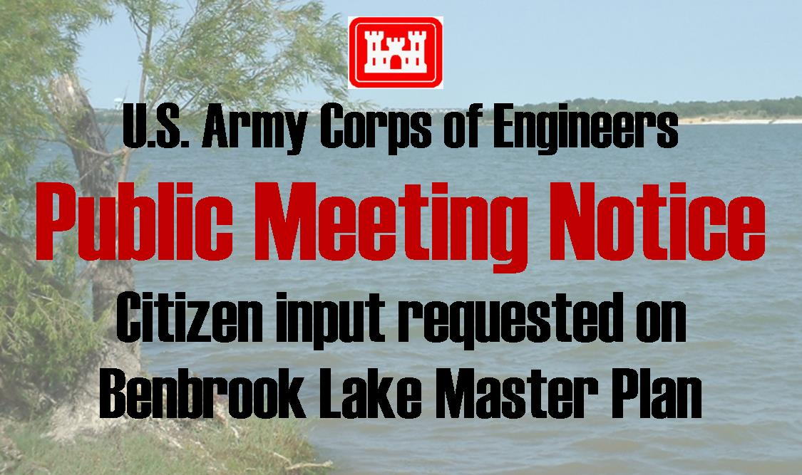 Lake Benbrook Public Meeting