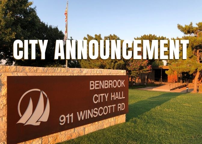 City Announcement Graphic